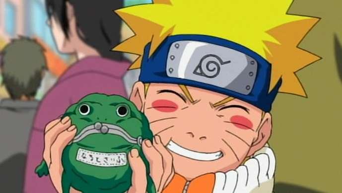 Naruto Frog Final