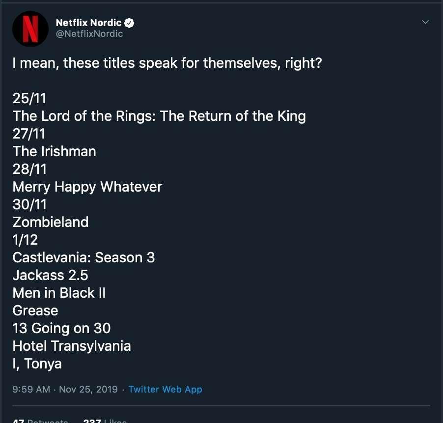 Netflix Castle