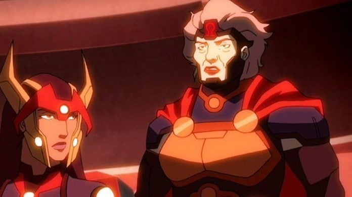 new gods granny goodness young justice
