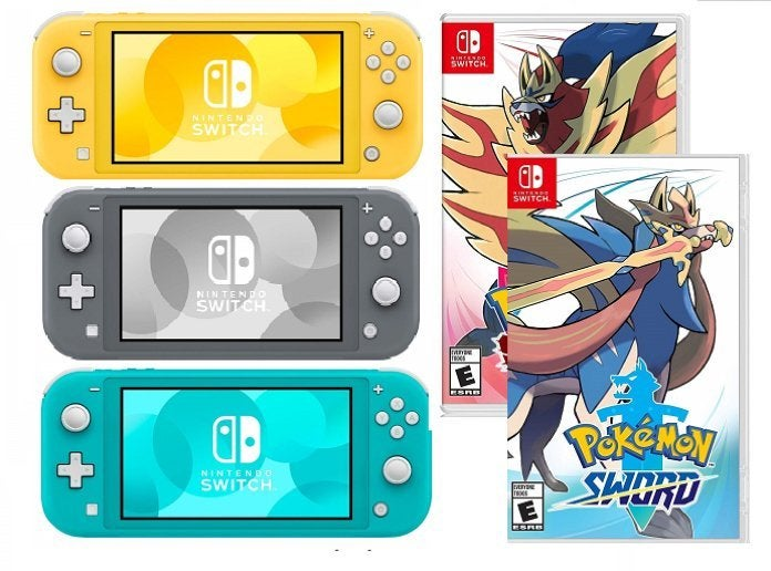 Nintendo Switch Lite Bundle Deal With Pokemon Sword Or Shield Is Better Than Black Friday