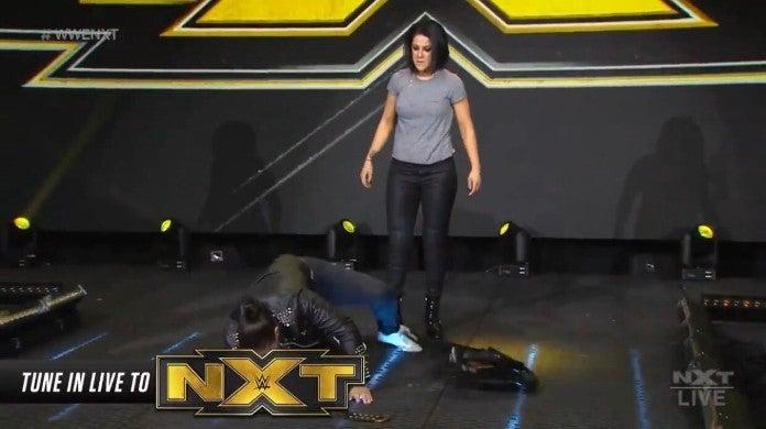 NXT Bayley Shayna Baszler