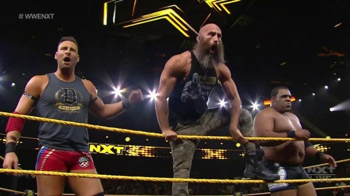 NXT Takeover WarGames Team Ciampa