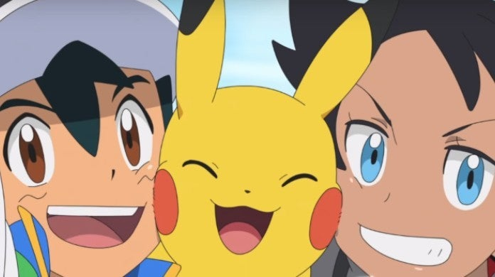 Pokemon Anime Ash Pikachu Go