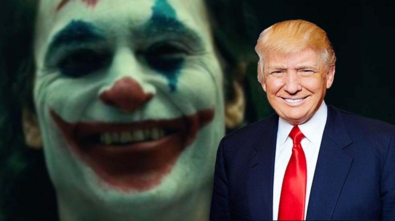 Donald Trump Hosts Joker Screening at the White House