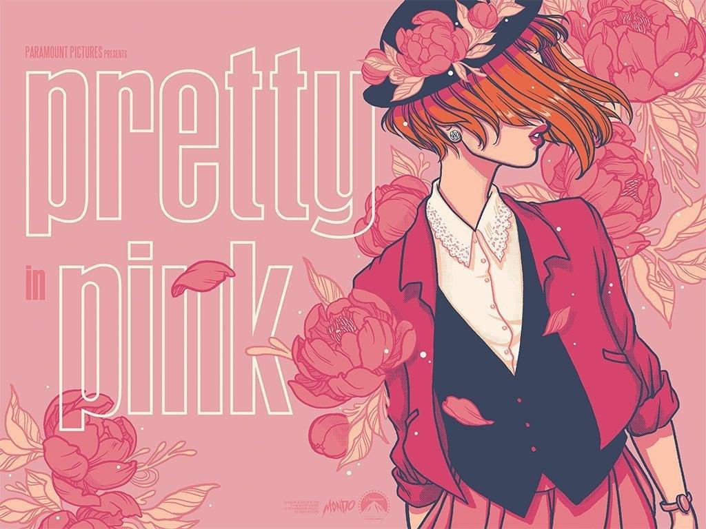 pretty in pink mondo poster