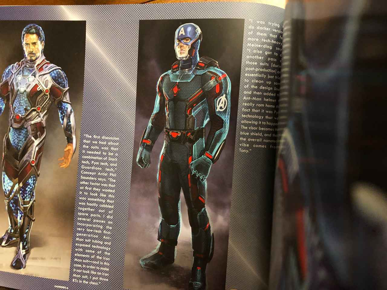 Image result for avengers endgame time travel suits artbook