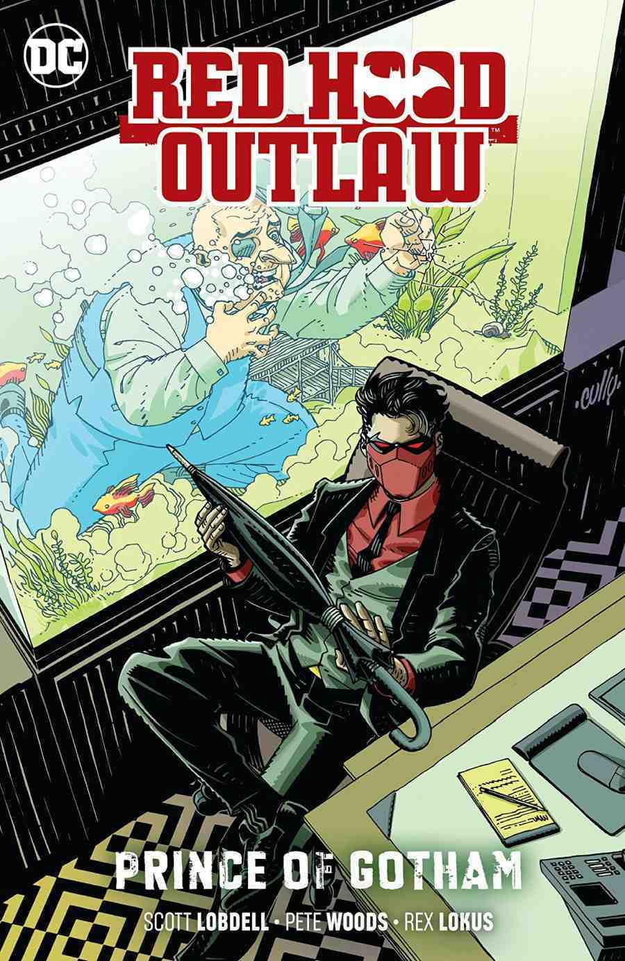 Red Hood Outlaw Vol 2 Prince of Gotham