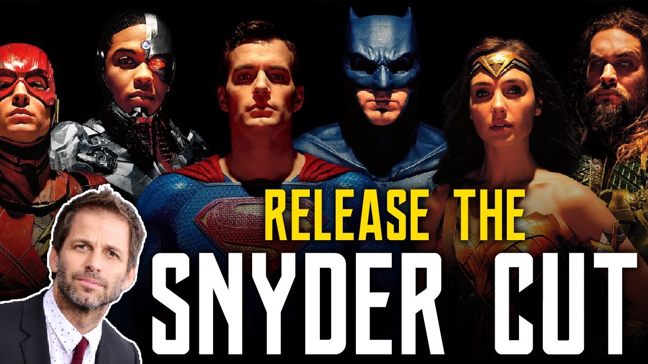 Release The Snyder Cut of Justice League Fans Gain Support screen capture