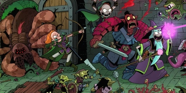 Dungeons & Dragons vs. Rick and Morty Designer Talks References and Rick Sanchez, Dungeon Master Extraordinaire