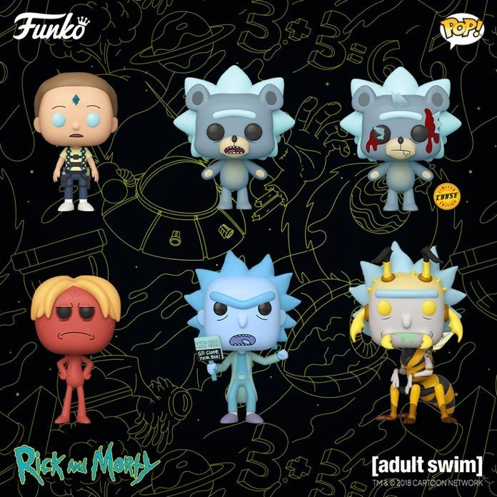 rick-and-morty-season-4-funko-pops