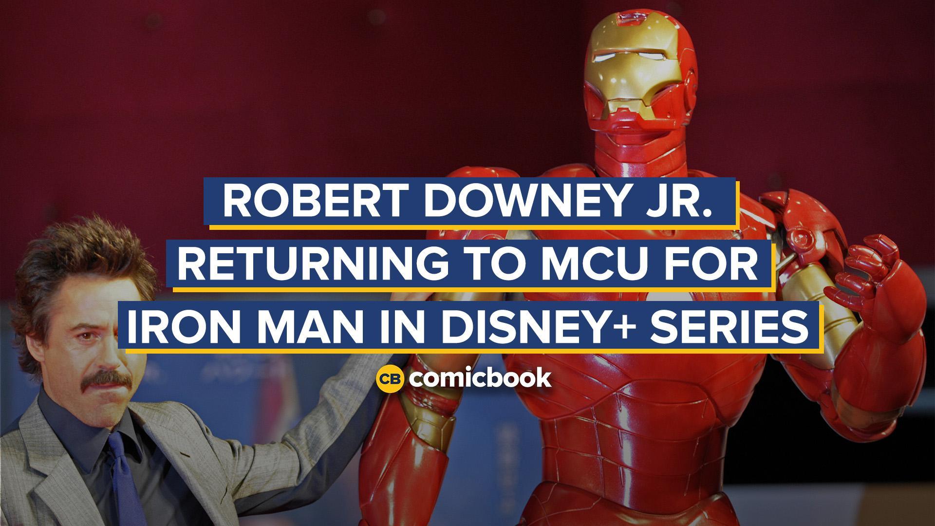 Robert Downey Jr. Returning to MCU for Iron Man in Disney+ Series screen capture