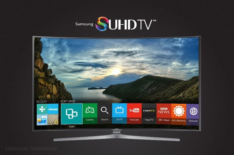 Samsung Smart TV with Tizen OS