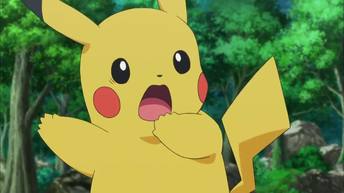 scared pikachu