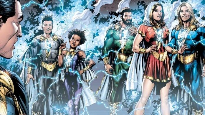 shazam family share marvel powers