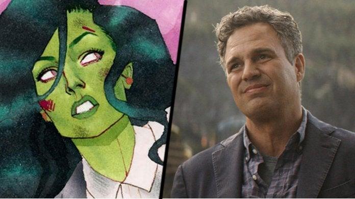 She-Hulk Mark Ruffalo