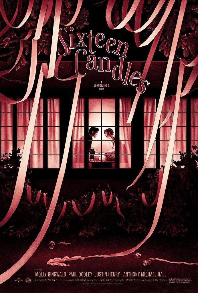 sixteen candles mondo poster