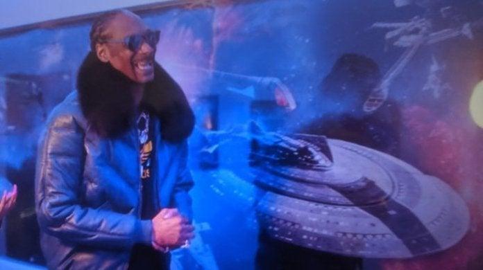 Snoop Dogg Star Trek Mural