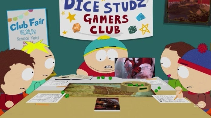 South Park Board Girls Episode Dungeon and Dragons