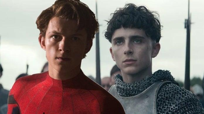 Spider-Man Tom Holland The King Timothee Chalamet