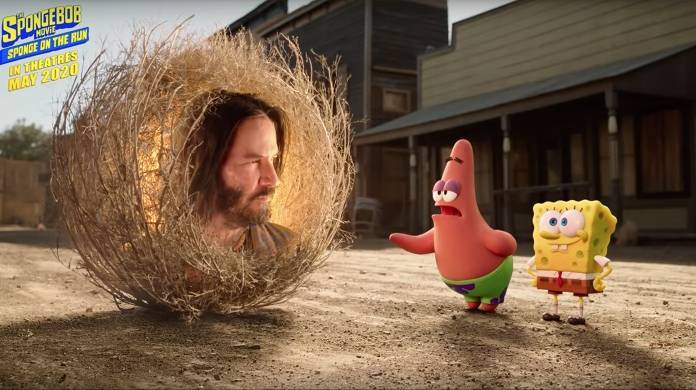 spongebob movie keanu reeves