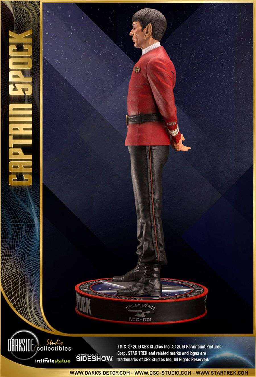 Star Trek Captain Spock Sideshow 02