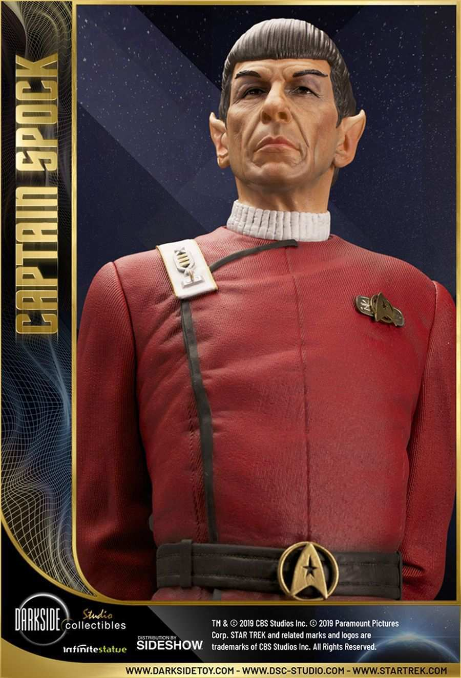 Star Trek Captain Spock Sideshow 05