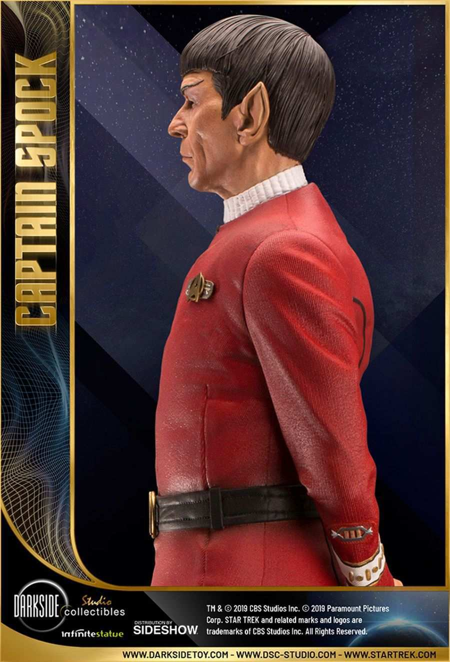 Star Trek Captain Spock Sideshow 06