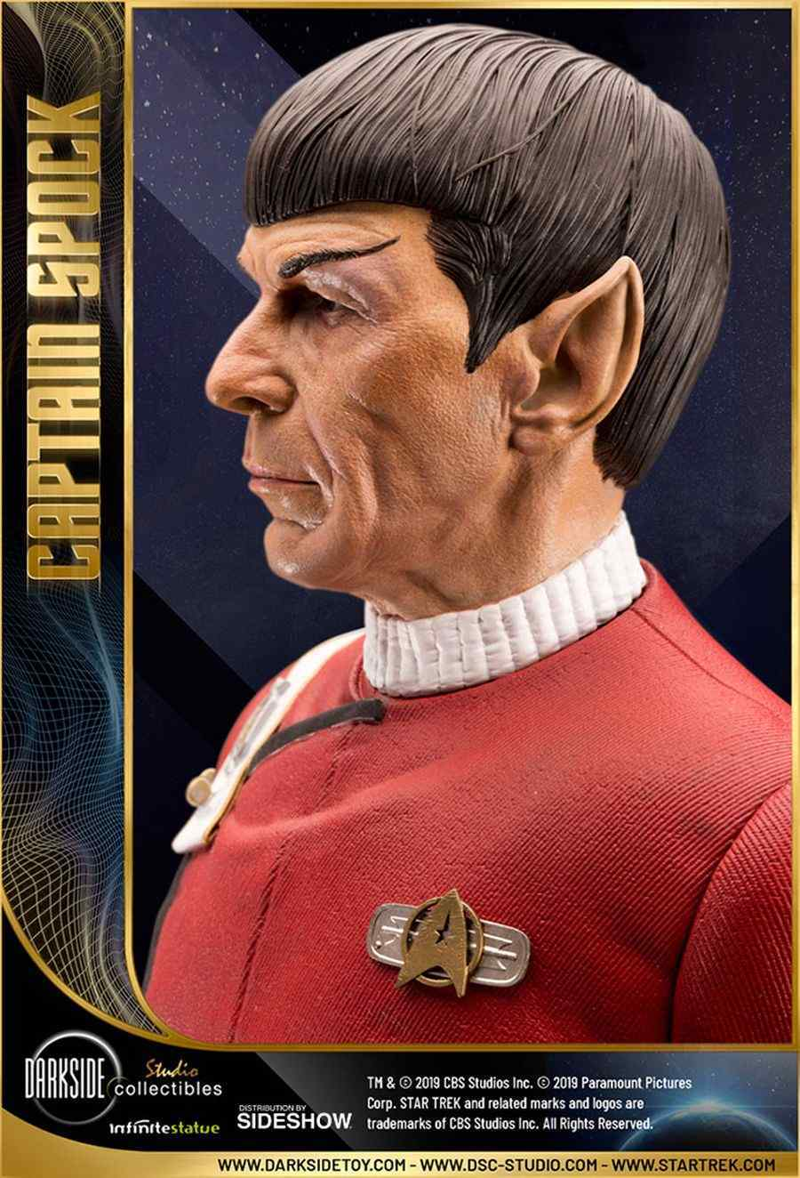 Star Trek Captain Spock Sideshow 07
