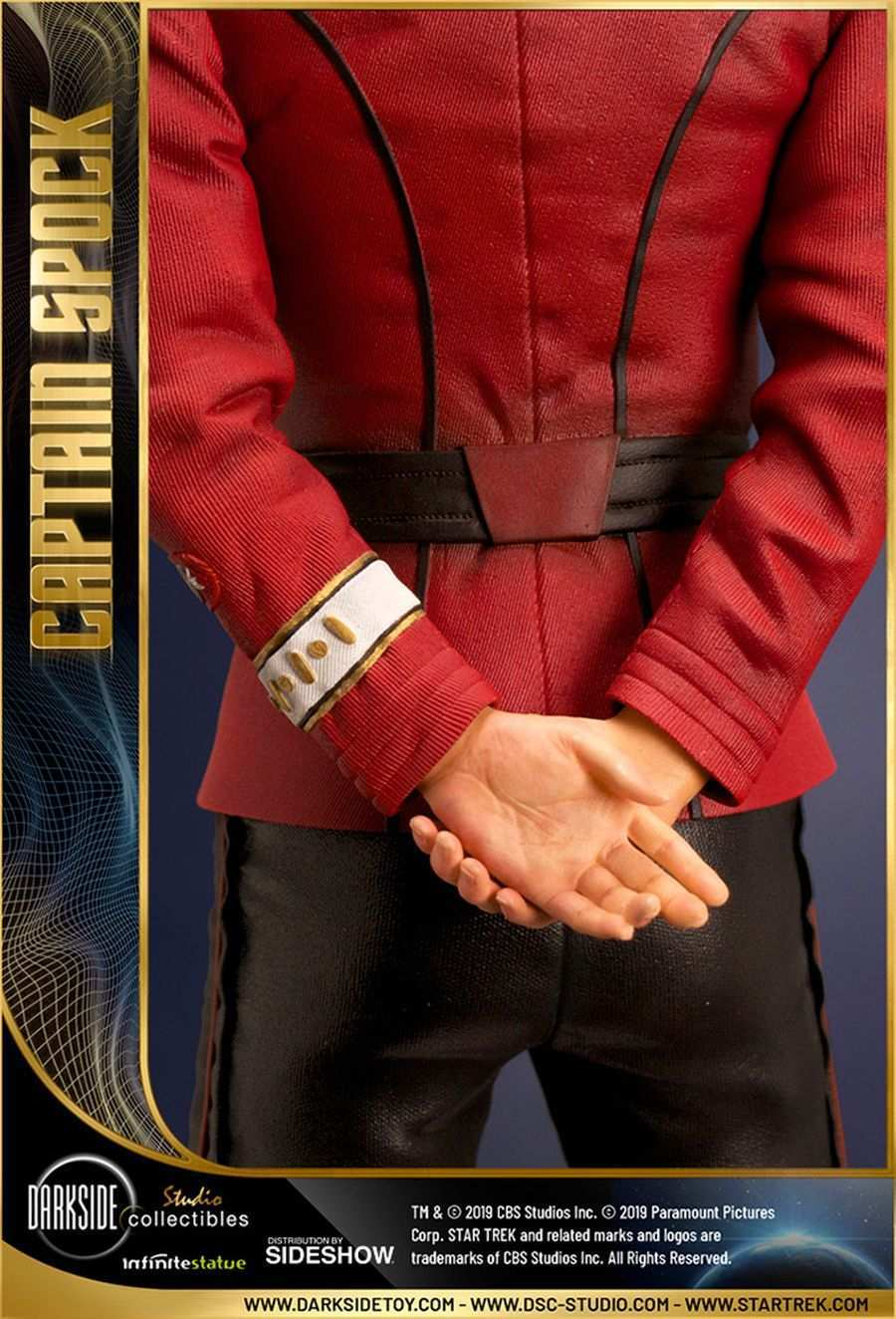 Star Trek Captain Spock Sideshow 11