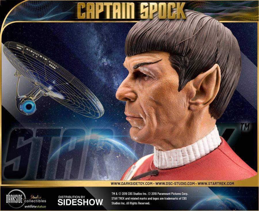Star Trek Captain Spock Sideshow 12