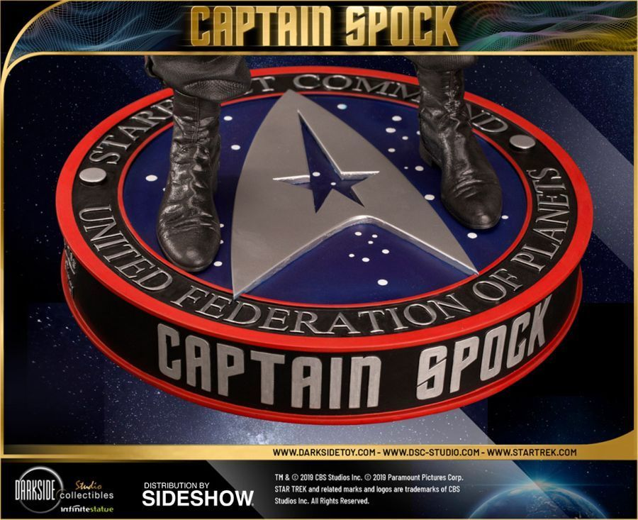 Star Trek Captain Spock Sideshow 15