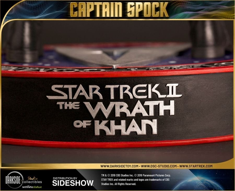 Star Trek Captain Spock Sideshow 16