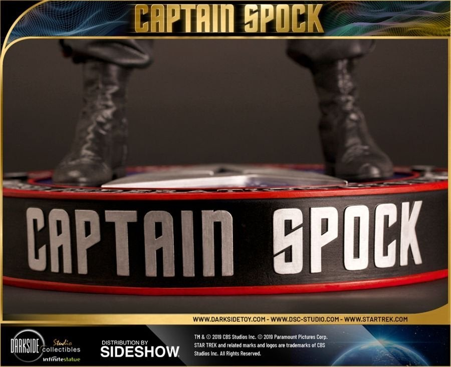 Star Trek Captain Spock Sideshow 17
