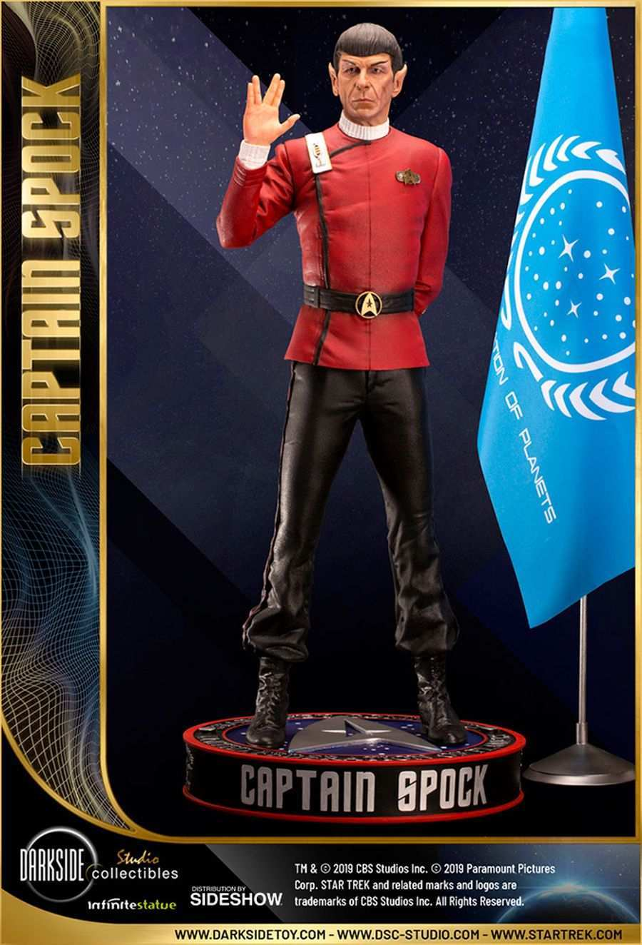 Star Trek Captain Spock Sideshow 18