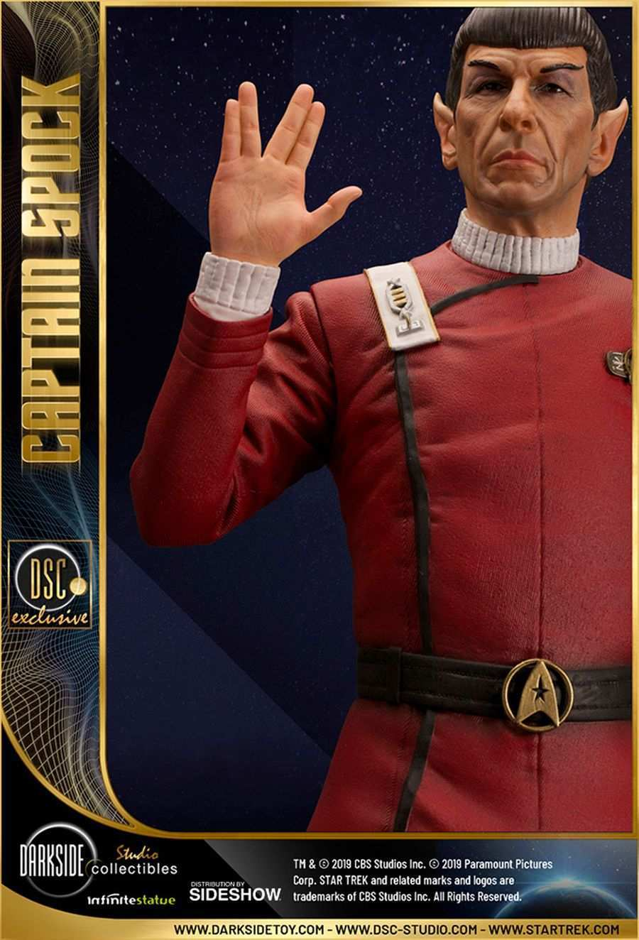 Star Trek Captain Spock Sideshow 19