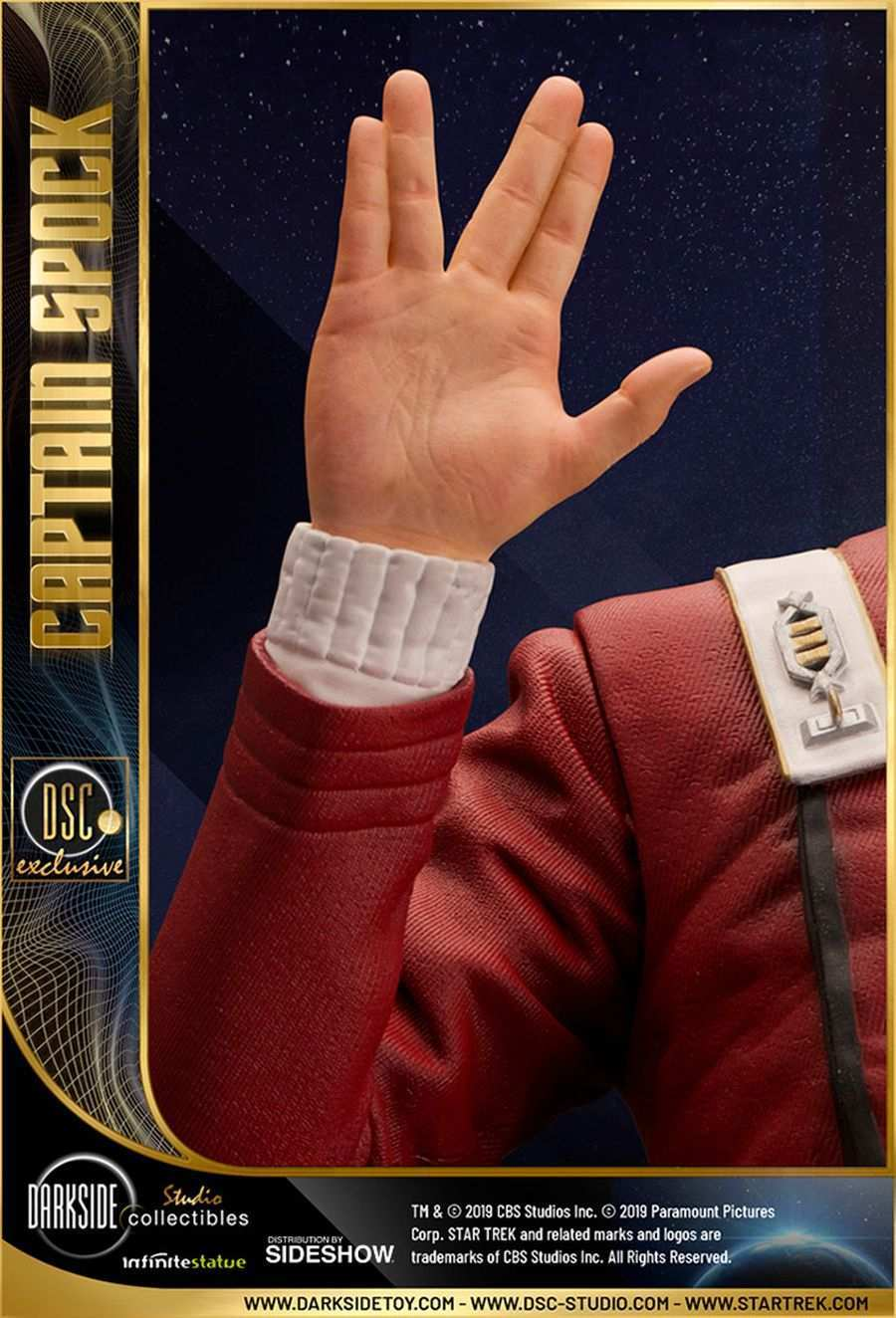 Star Trek Captain Spock Sideshow 20