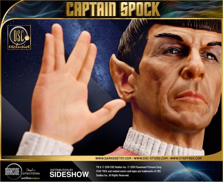 Star Trek Captain Spock Sideshow 21