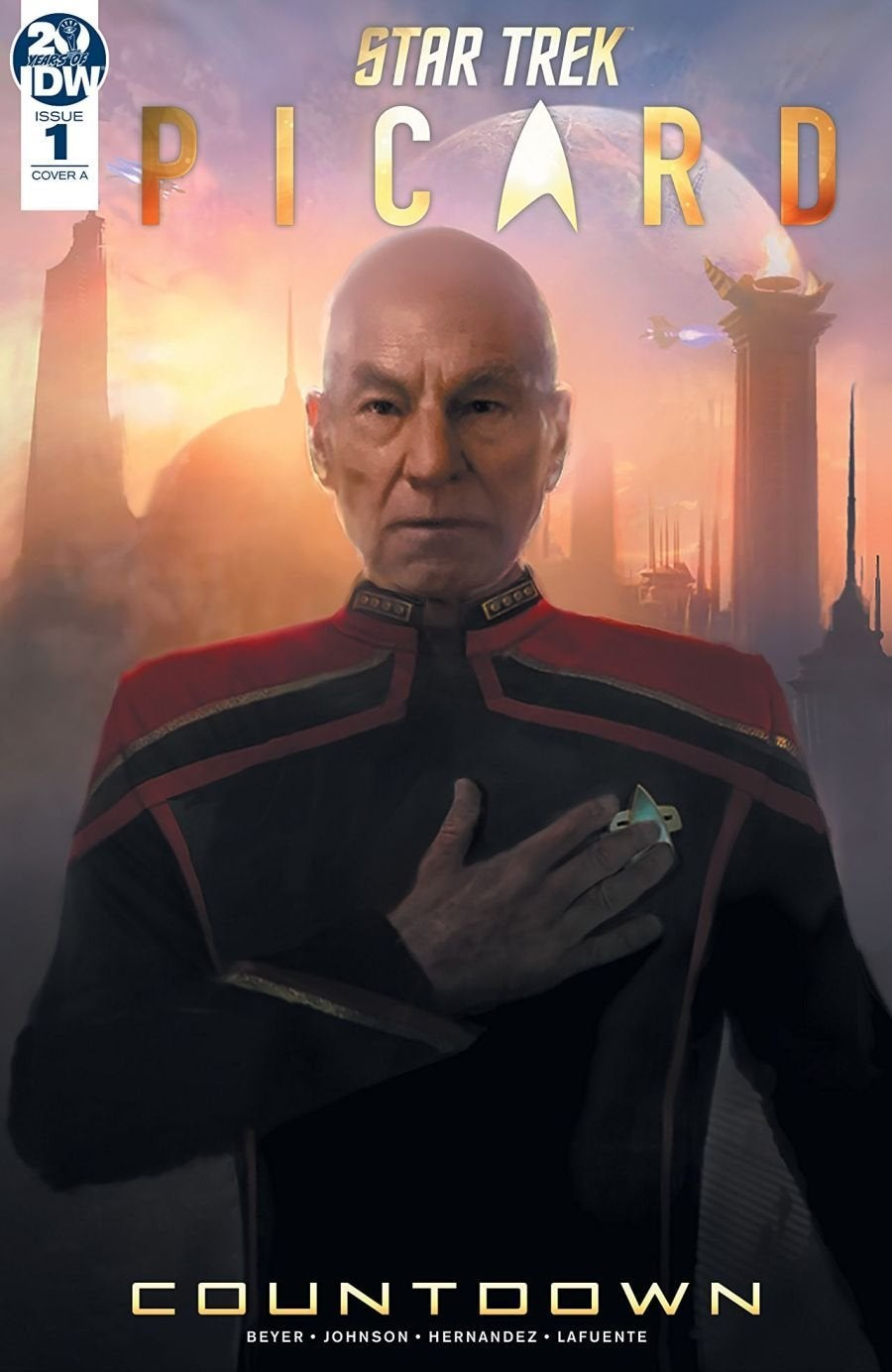 Star Trek Picard -- Countdown #1