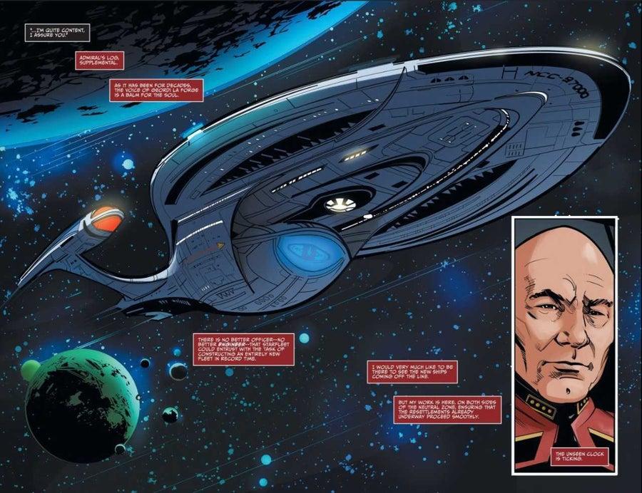 Star Trek Picard Odyssey Class Verity