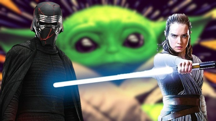Star Wars Mandalorian Baby Yoda Rise of Skywalker