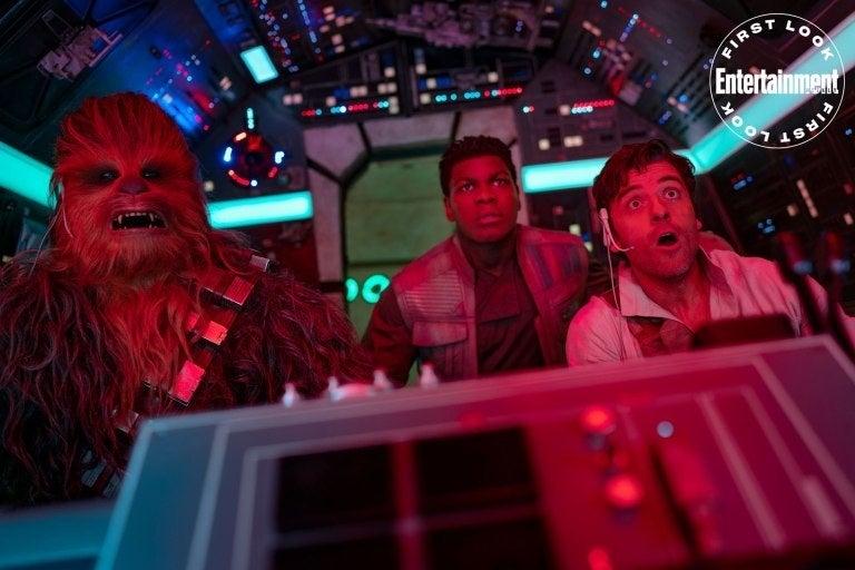 star wars rise of skywalker falcon