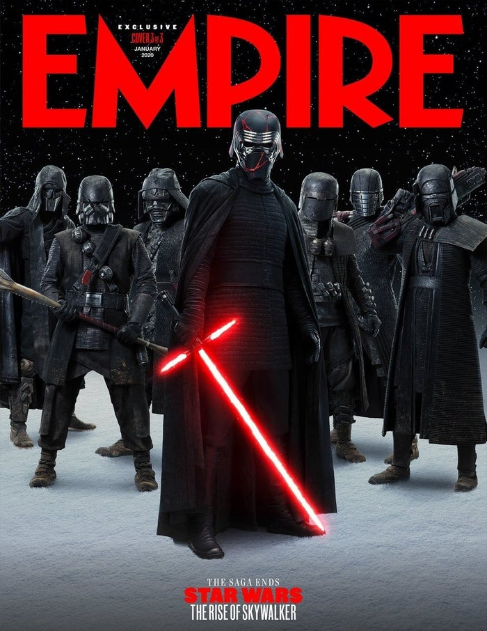 Star Wars Rise Skywalker Empire Cover Kylo Knights of Ren