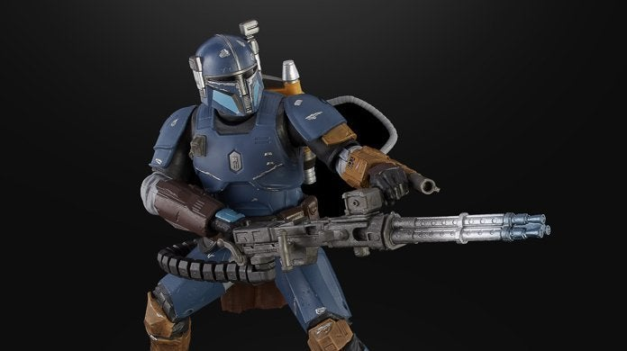 STAR WARS THE BLACK SERIES 6-INCH HEAVY INFANTRY MANDALORIAN Figure - top