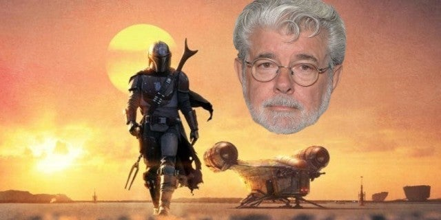 Star Wars The Mandalorian George Lucas Reaction
