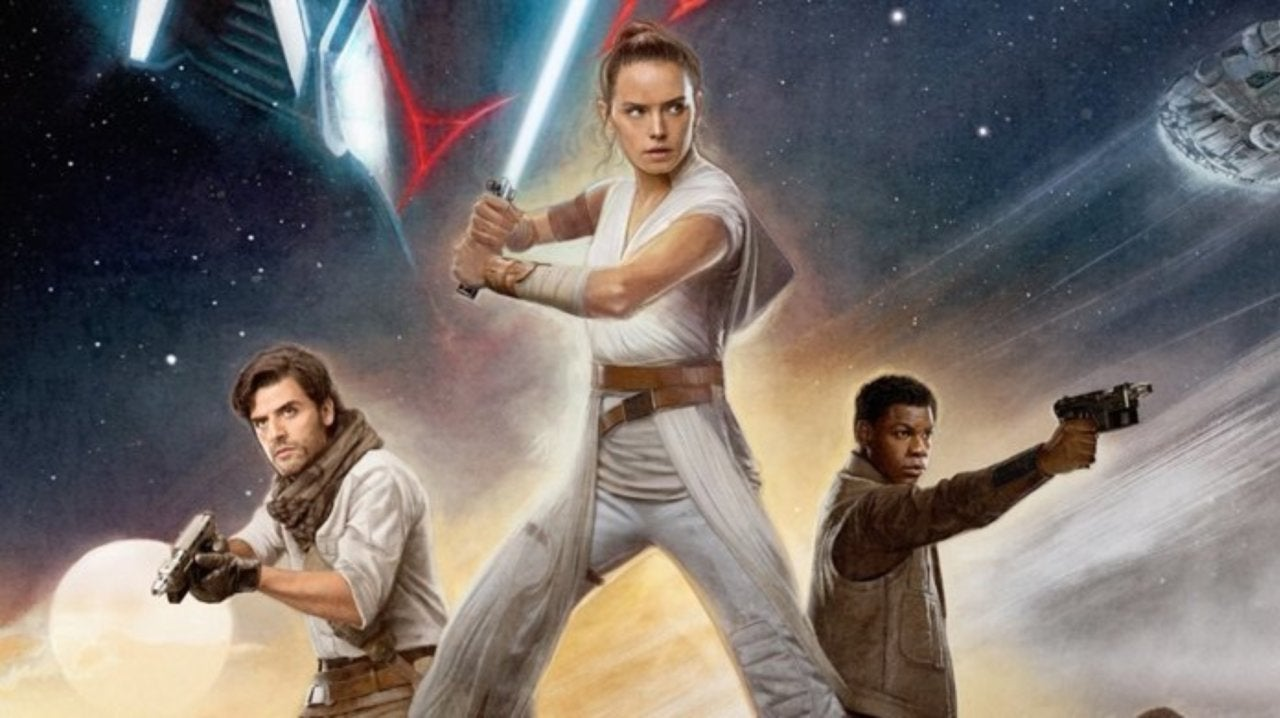 Star Wars The Rise Of Skywalker Earns Exclusive Reald 3d Poster
