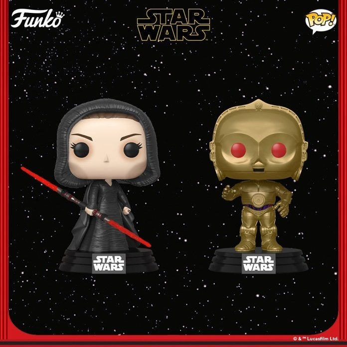 Funko S New Star Wars The Rise Of Skywalker Pops Include Knights Of Ren Dark Rey And More