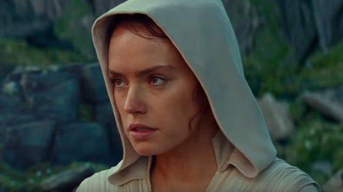 star wars the rise of skywalker rey ahch to