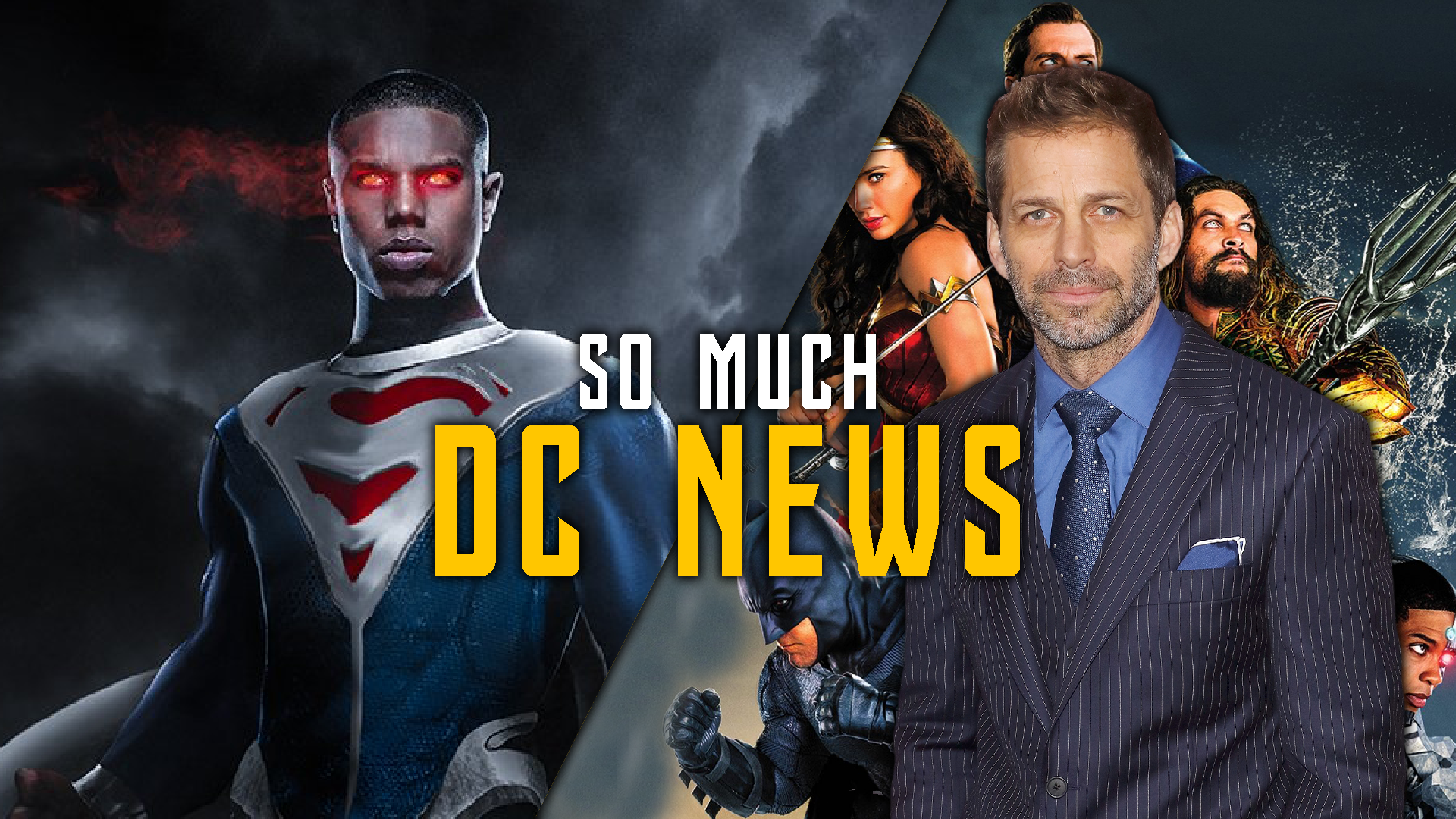 Status of DC Films to End 2019 - Superman, Batman, Black Adam, Snyder Cut & More screen capture