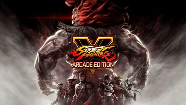 Street Fighter V Arcade Edition Cover