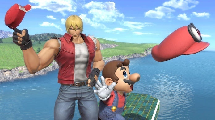 super smash bros ultimate terry bogard